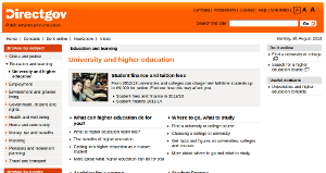 University and higher education